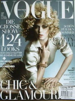 German Vogue magazine - April 2009 - Doutzen Kroes cover