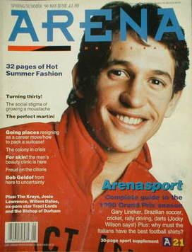 <!--1990-04-->Arena magazine - Spring/Summer 1990 - Gary Lineker cover