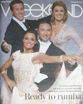 Weekend magazine - Ready to Rumba cover (12 September 2009)