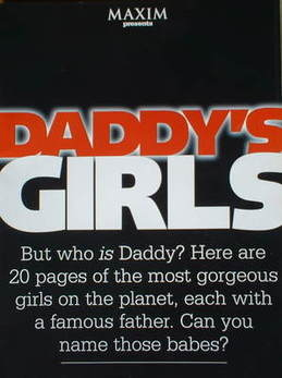 MAXIM supplement - Daddy's Girls