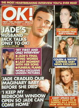 <!--2009-04-07-->OK! magazine - Jack Tweed cover (7 April 2009 - Issue 668)