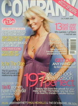 Company magazine - October 2004 - Sarah Harding cover