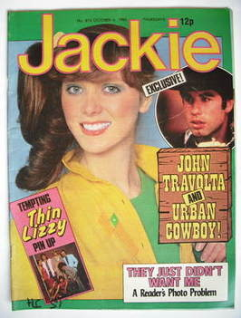 <!--1980-10-04-->Jackie magazine - 4 October 1980 (Issue 874)