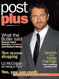 Post Plus magazine - Gerard Butler cover (1 March 2009)