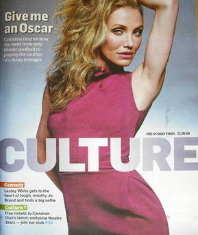 <!--2009-06-21-->Culture magazine - Cameron Diaz cover (21 June 2009)