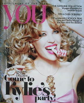 <!--2009-06-21-->You magazine - Kylie Minogue cover (21 June 2009)