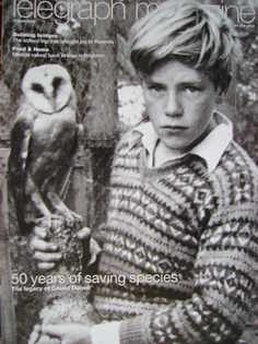 <!--2009-04-11-->Telegraph magazine - Gerald Durrell cover (11 April 2009)