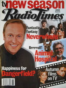 <!--1996-09-07-->Radio Times magazine - Nigel Le Vaillant cover (7-13 Septe