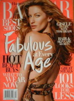 <!--2009-04-->Harper's Bazaar magazine - April 2009 - Gisele Bundchen cover