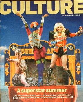 <!--2009-04-19-->Culture magazine - A Superstar Summer cover (19 April 2009