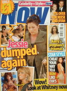 Now magazine - Jessie Wallace cover (13 November 2006)