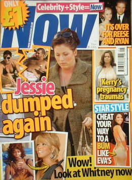 <!--2006-11-13-->Now magazine - Jessie Wallace cover (13 November 2006)