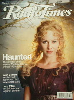 <!--2000-03-04-->Radio Times magazine - Naomi Watts cover (4-10 March 2000)