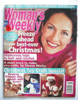 <!--1999-11-16-->Woman's Weekly magazine (16 November 1999)