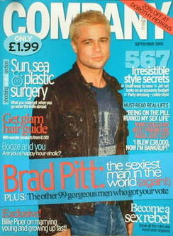 Company magazine - September 2005 - Brad Pitt cover