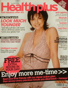 Health Plus magazine - Emma Samms cover (May 2006)