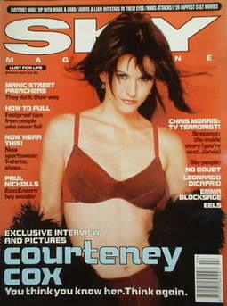 <!--1997-03-->Sky magazine - Courteney Cox cover (March 1997)