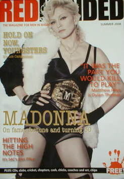 RedHanded magazine - Madonna cover (Summer 2008)