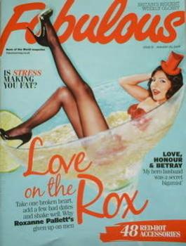 Fabulous magazine - Roxanne Pallett cover (25 January 2009)