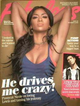 <!--2008-12-07-->Fabulous magazine - Nicole Scherzinger cover (7 December 2