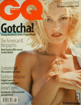 British GQ magazine - June 1999 - Sarah O'Hare cover