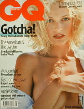 <!--1999-06-->British GQ magazine - June 1999 - Sarah O'Hare cover