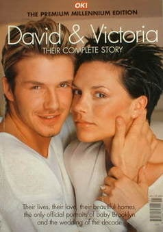 OK! magazine / book - David Beckham and Victoria Beckham cover (1 January 2