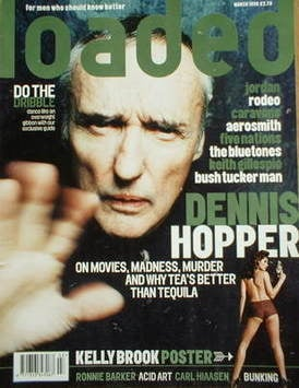 <!--1998-03-->Loaded magazine - Dennis Hopper cover (March 1998)