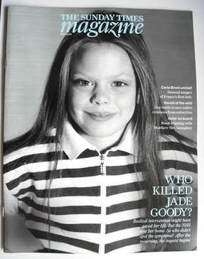 <!--2009-07-12-->The Sunday Times magazine - Jade Goody cover (12 July 2009