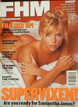 FHM magazine - Samantha Janus cover (July 1996)