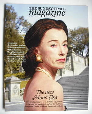 <!--2009-04-12-->The Sunday Times magazine - Cindy Sherman cover (12 April