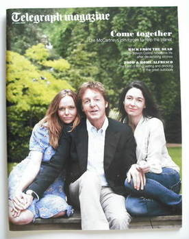 <!--2009-06-27-->Telegraph magazine - Sir Paul McCartney, Stella and Mary c