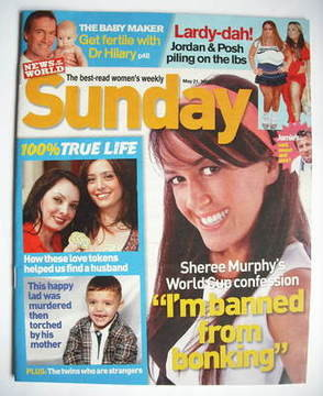 <!--2006-05-21-->Sunday magazine - 21 May 2006 - Sheree Murphy cover