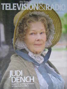 Television&Radio magazine - Judi Dench cover (17 November 2007)