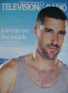 Television&Radio magazine - Matthew Fox cover (18 November 2006)