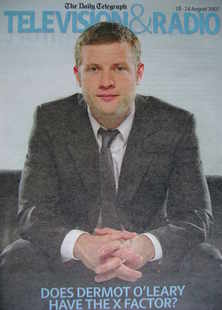 Television&Radio magazine - Dermot O'Leary cover (18 August 2007)