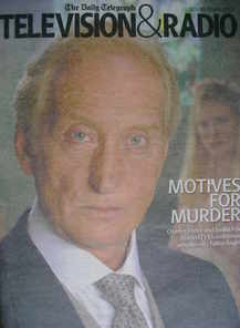 Television&Radio magazine - Charles Dance cover (10 March 2007)