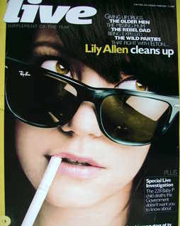 <!--2009-02-15-->Live magazine - Lily Allen cover (15 February 2009)