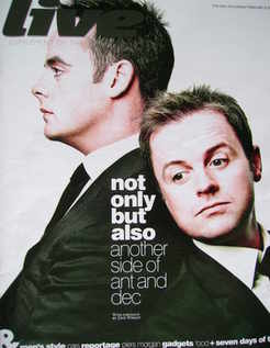 Live magazine - Ant and Dec cover (8 February 2009)