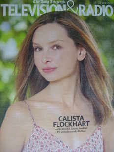 Television&Radio magazine - Calista Flockhart cover (16 June 2007)