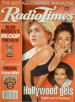 <!--1996-05-11-->Radio Times magazine - Kate Winslet, Liz Hurley and Emma T