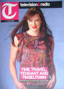 Television&Radio magazine - Michelle Ryan cover (11 April 2009)