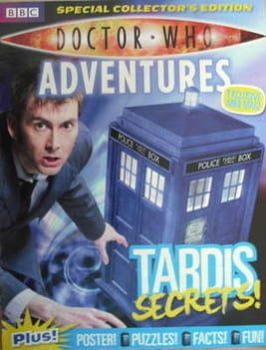 Doctor Who Adventures supplement - Tardis Secrets (June 2009)