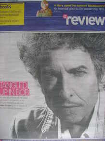 The Daily Telegraph Review newspaper supplement - 18 April 2009 - Bob Dylan