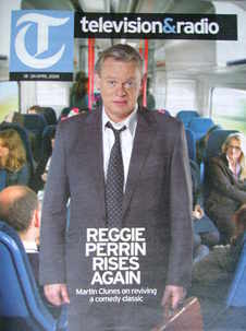 Television&Radio magazine - Martin Clunes cover (18 April 2009)