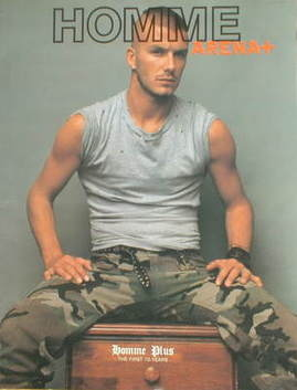 <!--2003-09-->Arena Homme Plus supplement - David Beckham cover (A/W 2003/2
