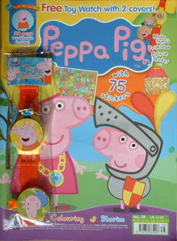 <!--2009-05-->Peppa Pig magazine - No. 38 (May 2009)