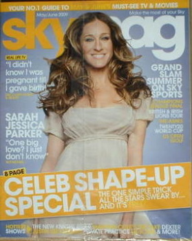 Sky TV magazine - May 2009/June 2009 - Sarah Jessica Parker cover
