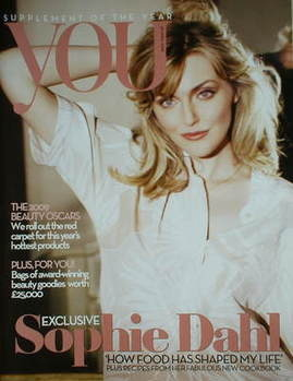<!--2009-04-26-->You magazine - Sophie Dahl cover (26 April 2009)