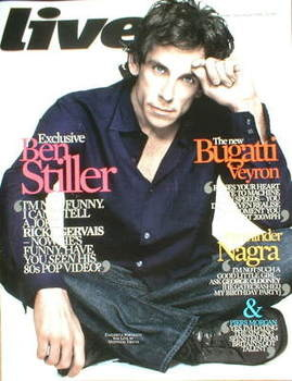 Live magazine - Ben Stiller cover (26 April 2009)